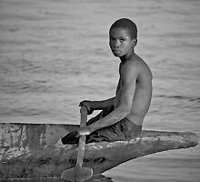 Guinea Bissau Fisher Boy 2 by SenegalSean