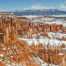 Hoodoos at Sunset Point in Bryce Canyon National Park by Sue Smith