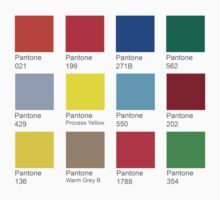 Pantone Color Chart by block33