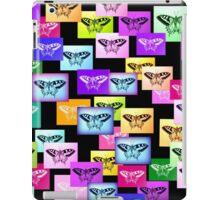 Rainbow Butterflies iPad Case/Skin