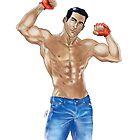 Muscled Guy NO BG by Kitsune Arts