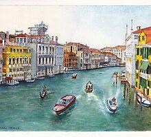 Grand Canal Venezia by Dai Wynn