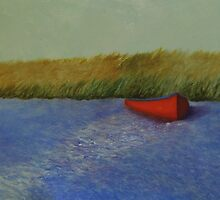 Red Boat - Plum Island by rfhauver