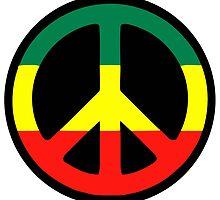 Rasta Peace by notonlywaves