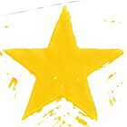 yellow star by byronC