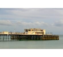 The Pier at Worthing Photographic Print