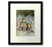 Cara and Clovis Framed Print