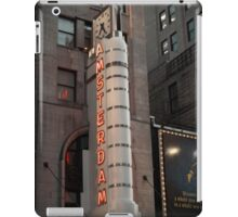 Amsterdam Theater in Times Square- Kodachrome Postcards iPad Case/Skin