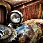 """The Front Fender""  Rotting away series.. by raberry"