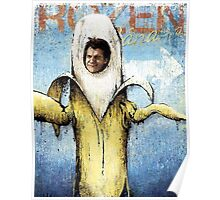 Frozen Banana Poster