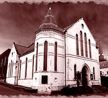 Carrickfergus Methodist Church (before demolition Dec '08) by SNAPPYDAVE