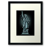 Statue of Time Framed Print