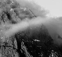 Stob Dearg (Buachaille Etive Mor) - B&W Version by Kevin Skinner