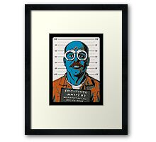 Frightened Inmate #2 Framed Print