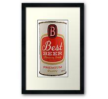 Best beer Framed Print
