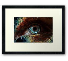 Spooky Eye Framed Print