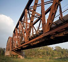 Brazos Bridge by RollemFloyd