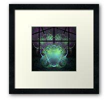 Aliens In My Greenhouse Framed Print