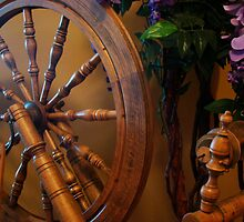 Spinning Wheel by Al Bourassa