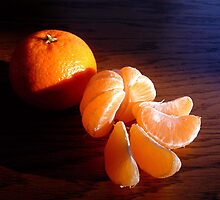 Orange Clementine by Johnny Furlotte