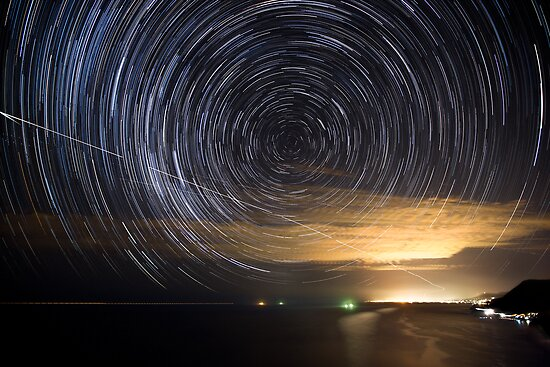 Night's Fingerprint by Geoff  Coleman - Landscapes