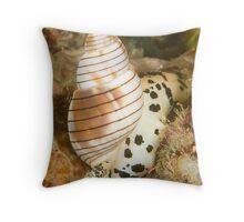 Sea Snail Throw Pillow