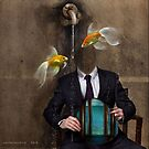 'swimming in a fish bowl' by oneoftheclan