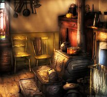 The old farm kitchen by Mike  Savad