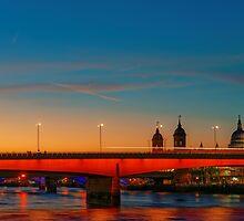 London At Twilight, England by atomov