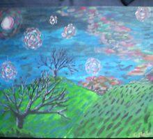 Starry Starry Night Version 2 by Lightningjack49