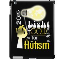 Light it up Gold 2015 iPad Case/Skin