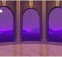 3 Doorways by Ellen McDonough