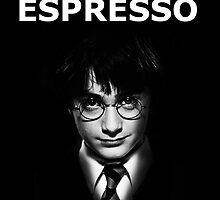 Harry Potter Espresso Patronum Mugs by alexalexx