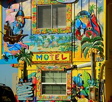 Motel In Paradise ~ Part Two by artisandelimage