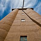 Grain Silo - Nhill, Wimmera by Mark German