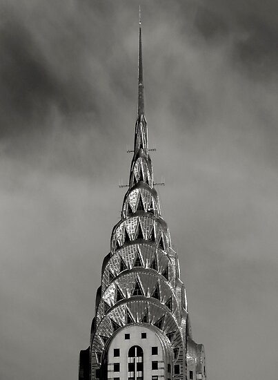 Chrysler Building Spire, New York CIty by Jaymes Williams