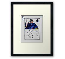 Chief of Spades Framed Print