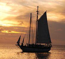 Sunset Sail by MondoStef
