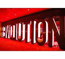 R3VOLUTION Photographic Print