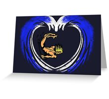 I LOVE SURFING. Greeting Card
