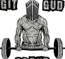 Dark Souls: GIT GUD by Sean Hollyman