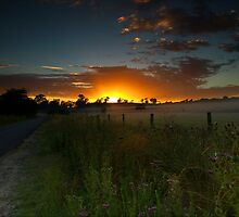 Road to the Sun - Theresa Park, NSW by Malcolm Katon