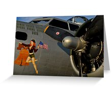 Liberty Belle Greeting Card