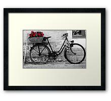 French Wheels Framed Print