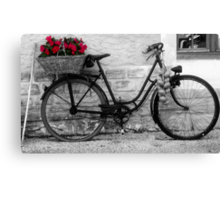 French Wheels Canvas Print