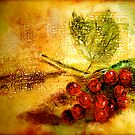 Texture...Berry Fresco by © Janis Zroback