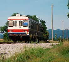 Rural Italian Train  by jojobob