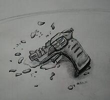 Squirt gun # 1 by Allib