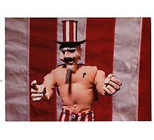 Uncle Sam Jr. gallery invite, 1999 Photographic Print