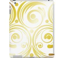Swirls and Dots iPad Case/Skin